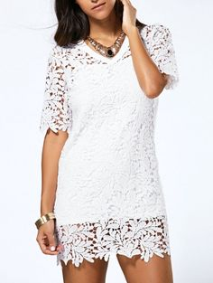 Lace Dresses For Women Trendy Fashion Style Online Shopping Zaful White Lace Dresses Lace