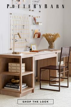 Home Office Space, Home Office Design, Home Office Furniture, Home Office Decor, House Design, Home Organization Hacks, New Room, Office Interiors, Decorating Your Home
