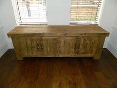 Solid Wood Hudson Low Cabinet #eatsleeplive  www.eatsleeplive.co.uk
