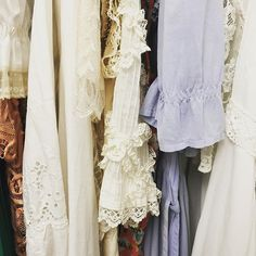 Vintage dresses from our personal collection Instagram Shop, Instagram Posts, Vintage Dresses, Kimono Top, Handmade, Shopping, Collection, Tops, Women