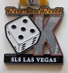 R'n'R Las Vegas 5k medal 2014