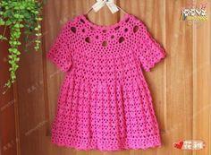 Patron para hacer un vestido a crochet para niña09