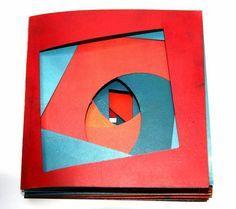 eleonora cumer libri d& - livres d& - artist books - libros de artista - Künstlerbuch Altered Books, Altered Art, Arte Pop Up, Libros Pop-up, Tunnel Book, Accordion Book, Paper Book, Book Projects, Handmade Books