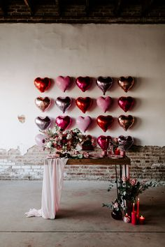 Elegant Valentine's Elopement Inspiration Is For The Coolest Of Couples. If you are looking for Valentine's Elopement Inspiration Is For The Coolest Of Couples, You come to the right place. Valentines Day Weddings, Valentines Day Party, Valentines Day Decorations, Red Party Decorations, Valentines Balloons, Heart Decorations, Valentine Ideas, Vintage Valentines, Valentinstag Party