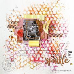 Shine and sparkle by Riikka Kovasin for Prima Marketing