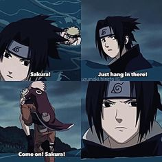 Someone is jealous ❤️ Cha Naruto's carrying Sakura, and Sasuke is left behind ❤️❤️❤️<<< yeah sasuke wishes he was in naruto's arms Naruto And Sasuke, Anime Naruto, Kakashi E Sakura, Kakashi Sensei, Sakura Haruno, Naruto Uzumaki, Manga Anime, Naruhina, Boruto