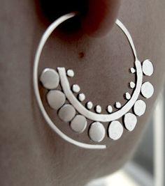Sunflower Spiral Hoops