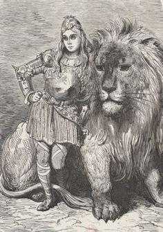 La légende de Croque-Mitaine #gallica #illustrator #illustrateur #doré Ernest, Bnf, Lion, Posters, Fan Art, Animals, Vintage, Poster, Gustave Dore