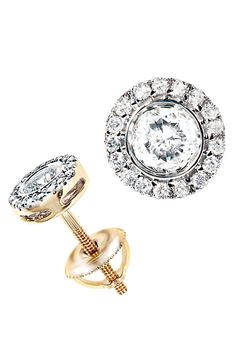 Diamond Studs so pretty & i def need the screw on backs so I don't lose another 1/2 carat stud, like in college...