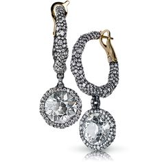 Charmeuse Créoles Diamants Antiques Earrings These drop earrings, an intriguing blend of raw and refined, interpret the undulating band of the Charmeuse jewels, suggestive of the Bohemian lifestyle and freedom of thought that nurtured the creativity of Russia's Silver Age. .