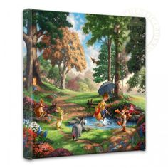 Winnie The Pooh I 14 X Gallery Wrapped Canvas
