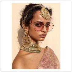 Sabyasachi Frühling Sommer 2019 Namaste Easy Kollektion - - New Ideas Indian Wedding Jewelry, Indian Wedding Outfits, Indian Bridal, Indian Jewelry, Indian Outfits, Namaste, Uncut Diamond, Rose Cut Diamond, Chan Luu