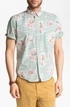 Reyn Spooner Shirt & Obey Shorts   Nordstrom