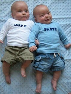 Just in case I have twins one day.