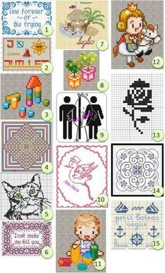 More free cross stitch patterns