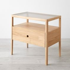 Spindle Oak Nightstand | Unison Furniture Design Inspiration, Diy Furniture, Oak Beds, Oak Nightstand, Nightstand, White Oak Wood, Oak, Wooden Decor, Sideboard Furniture