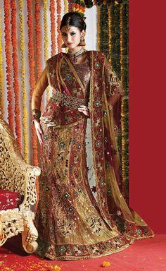 Super traditional bridal lengha....