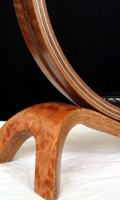 My bent-wood laminated reading lamp, with aluminum! by Jesse Silver - Puck