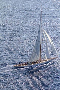 Riding in The Lap of Luxury Travel With a Virgin Island Yacht Charters Classic Sailing, Classic Yachts, Catamaran, J Class Yacht, Yacht Boat, Sail Away, Set Sail, Small Boats, Wooden Boats