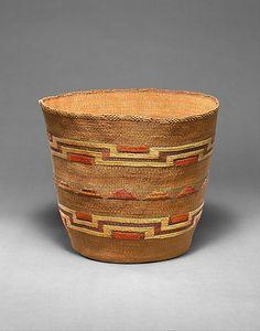 Tlingit basket, Alaska