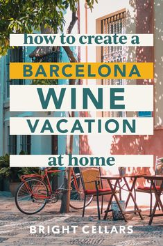 Since traveling is still paused here are some tips on how to create a Barcelona wine vacation at home! Creating an at home wine vacation is fun and simple. Just use these tips and tricks to get you started! Bright Cellars, How To Become, How To Get, Wine Guide, Staycation, Wine Tasting, Need To Know, Barcelona, Traveling