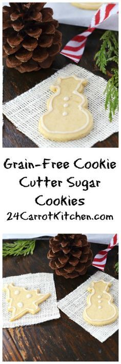 Paleo, vegan and so easy to make! I have tried many cut-out sugar cookies and these are my favorite!