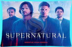 Supernatural Dean Sam Cas Crowley Pillow Cover