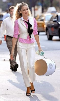 Look white by Ralph Lauren Carrie Bradshaw