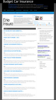 We provide budget car insurance information >> car insurance --> www.budgetcarinsurance.co