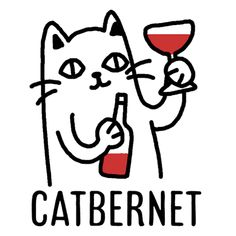 Find GIFs with the latest and newest hashtags! Search, discover and share your favorite Catbernet GIFs. The best GIFs are on GIPHY. Crazy Cat Lady, Crazy Cats, Rick And Morty Poster, Wine Meme, Felt Animal Patterns, Cat Wine, Wine Logo, Cat Drinking, Wine Art