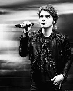 Gerard Way of My Chemical Romance -  Welcome to the black parade mother fucker!
