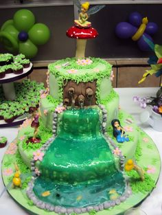 #Bolo #Sininho #TinkerBell #Cake #Fodant #PastaAmericana