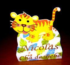 Caixa Bis Duplo - Safari - Tigre