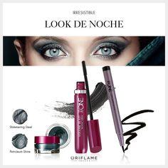 Look nocturno #cosmeticosnaturales