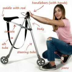 Uma bike para mochileiros