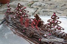 Décoration bûche de Noël | Ciloubidouille