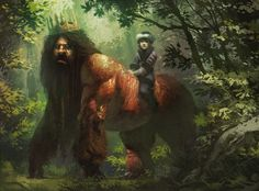 """""""Iron John"""" (Grimm brothers) by Pierre Droal"""
