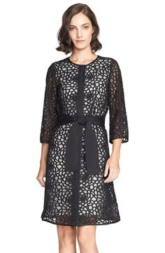 St. John Collection Crochet Lace Topper available at #Nordstrom