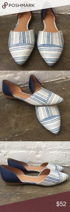 Tommy Hilfiger BRAND NEW Pointed Flats!! Tommy Hilfiger BRAND NEW Pointed Flats!! Never worn! Perfect for summer! Tommy Hilfiger Shoes Flats & Loafers