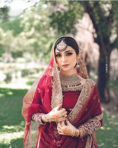 Pakistani Fashion Party Wear, Pakistani Bridal Makeup, Pakistani Wedding Outfits, Pakistani Dress Design, Bridal Outfits, Pakistani Dresses, Indian Bridal, Indian Dresses, Nikkah Dress