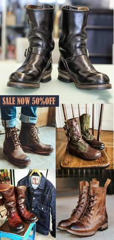 Fashionable men's boots,high-quality leather layer+heightened design,give you a perfect experience, buy 50% off today's activities