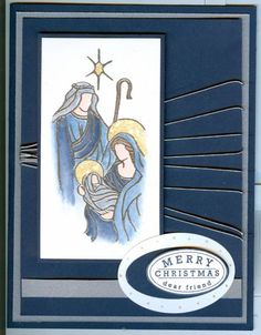 Holy Christmas by peggy-sue - Cards and Paper Crafts at Splitcoaststampers
