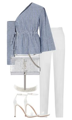 """""""Untitled #3085"""" by theeuropeancloset on Polyvore featuring Givenchy, Solace, Zara, Charlotte Russe and Yves Saint Laurent"""