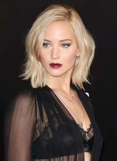 So, looks like we'll be taking this picture of J-Law looking fierce to the hairdresser next time we need a trim...