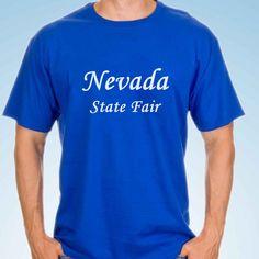 Nevada State, Cloths, Mens Tops, T Shirt, Fashion, Drop Cloths, Moda, Tee, Fasion