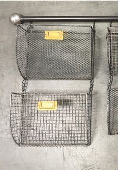 Metal Baskets, Metal Storage Baskets, Wall Baskets