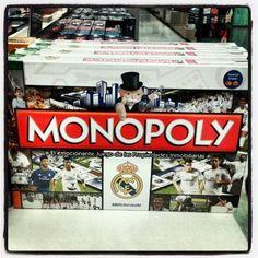 #monopoly #RealMadrid #RMCF visita nuestro blog http://boardgamescave.wordpress.com