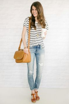 Easy simple classic outfit that always works for a casual look