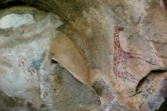 A moment in time captured by the San people of ancients past.
