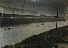 1972 - A última regata no rio Tietê. Past, Urban, City, Painting, Photos, Vintage, Brazil Cities, Time Travel, Lakes